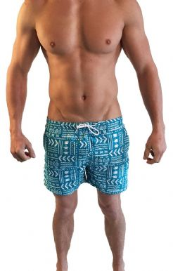 Abstract Print Swimshorts